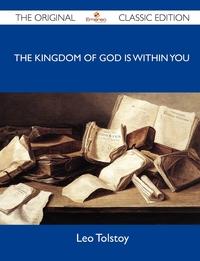 The Kingdom of God Is Within You, Leo Nikolayevich Tolstoy обложка-превью