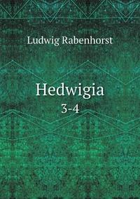 Hedwigia: 3-4, Ludwig Rabenhorst обложка-превью
