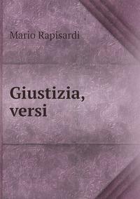 Giustizia, versi, Mario Rapisardi обложка-превью