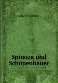 Spinoza und Schopenhauer, Samuel Rappaport обложка-превью