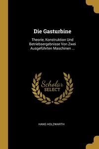 Книга под заказ: «Die Gasturbine»
