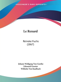 Книга под заказ: «Le Renard»