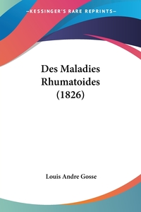 Книга под заказ: «Des Maladies Rhumatoides (1826)»