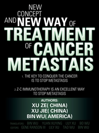 Книга под заказ: «New Concept and New Way of Treatment of Cancer Metastais»
