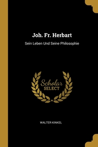 Книга под заказ: «Joh. Fr. Herbart»