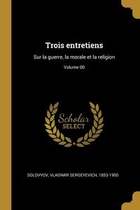 Книга под заказ: «Trois entretiens»