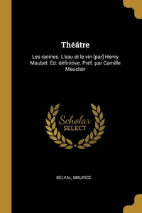 Книга под заказ: «Théâtre»