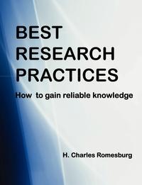 Книга под заказ: «Best Research Practices»