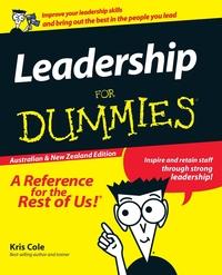 LEADERSHIP FOR DUMMIES AUS & N, Cole обложка-превью
