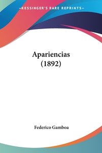 Apariencias (1892), Federico Gamboa обложка-превью