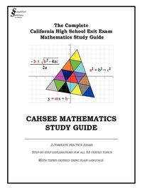 Книга под заказ: «CAHSEE MATHEMATICS STUDY GUIDE»