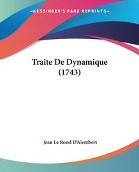 Traite De Dynamique (1743), Jean le Rond d'Alembert обложка-превью