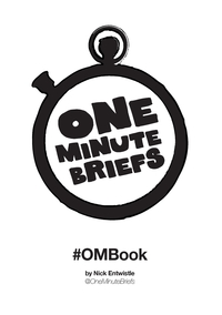 Книга под заказ: «One Minute Briefs #OMBook»