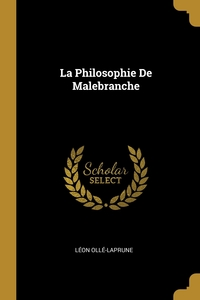 La Philosophie De Malebranche, Leon Olle-Laprune обложка-превью