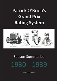 Книга под заказ: «Patrick O'Brien's Grand Prix Rating System»