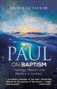 Книга под заказ: «Paul on Baptism»