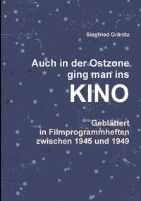 Книга под заказ: «Auch im Osten ging man ins KINO»