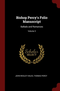 Книга под заказ: «Bishop Percy's Folio Manuscript»