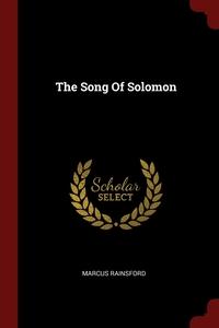 The Song Of Solomon, Marcus Rainsford обложка-превью