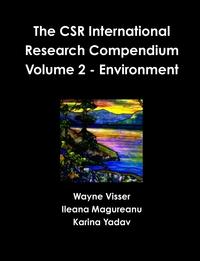 Книга под заказ: «The CSR International Research Compendium»