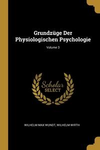 Книга под заказ: «Grundzüge Der Physiologischen Psychologie; Volume 3»