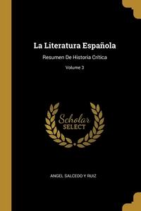 Книга под заказ: «La Literatura Española»