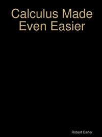 Calculus Made Even Easier, Robert Carter обложка-превью