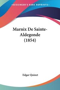 Marnix De Sainte-Aldegonde (1854), Edgar Quinet обложка-превью