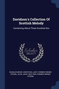 Книга под заказ: «Davidson's Collection Of Scottish Melody»