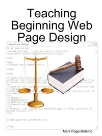 Книга под заказ: «Teaching Beginning Web Page Design»