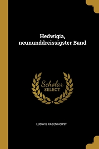 Hedwigia, neununddreissigster Band, Ludwig Rabenhorst обложка-превью
