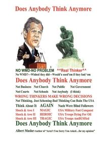 Книга под заказ: «Does Anybody Think Anymore»