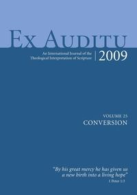 Книга под заказ: «Ex Auditu - Volume 25»