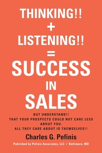 Книга под заказ: «THINKING!! + LISTENING!! = SUCCESS IN SALES»