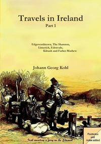 Travels in Ireland - Part 1, Johann Georg Kohl обложка-превью