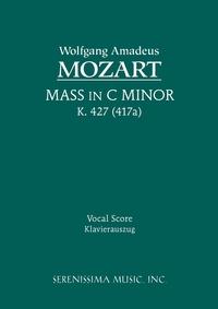 Mass in C-minor, K.427: Vocal score, Wolfgang Amadeus Mozart, Alois Schmitt обложка-превью