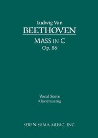 Mass in C, Op.86: Vocal score, Ludwig van Beethoven, Carl Reinecke, Karel Torvik обложка-превью