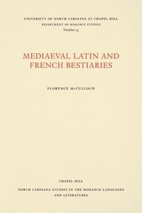 Книга под заказ: «Medieval Latin and French Bestiaries»