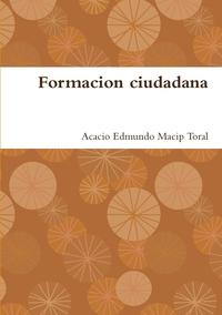 Книга под заказ: «Formacion ciudadana»