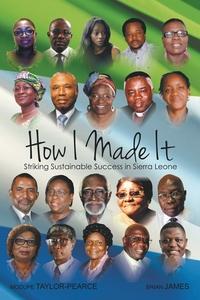 Книга под заказ: «How I made it»
