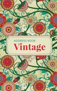 Книга под заказ: «Address Book Vintage»
