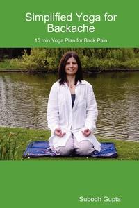 Книга под заказ: «Simplified Yoga for Backache»