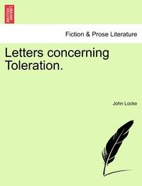 Книга под заказ: «Letters concerning Toleration.»