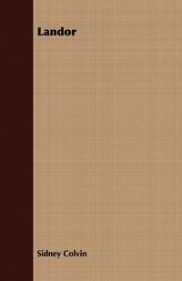Landor, Sidney Colvin обложка-превью