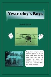 Yesterday's Boys, Robert Taylor обложка-превью