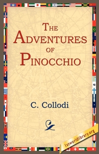 The Adventures of Pinocchio, C. Collodi, 1stworld Library обложка-превью