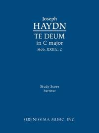 Книга под заказ: «Te Deum in C major, Hob.XXIIIc.2»