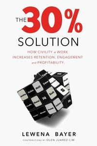 Книга под заказ: «The 30% Solution»