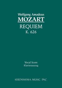 Requiem, K.626: Vocal score, Wolfgang Amadeus Mozart, Franz Xaver Sussmayr, Friedrich Brissler обложка-превью