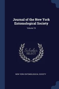 Journal of the New York Entomological Society; Volume 19, New York Entomological Society обложка-превью